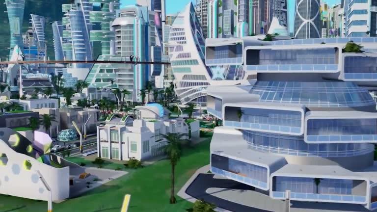 Sim City Städte Der Zukunft Im Launch Trailer
