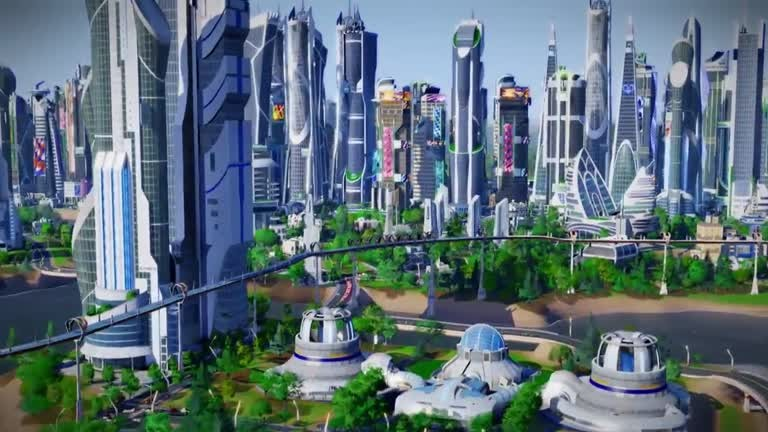 Sim City Städte Der Zukunft Das Add On Im Ankündigungstrailer