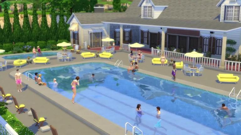 Die sims 4 kostenloses pool update ver ffentlicht - Sims 4 dach bauen ...