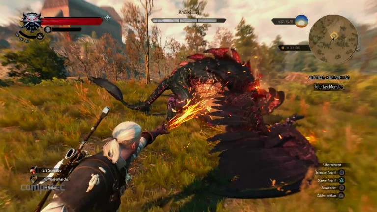 the witcher 3 bomben werfen