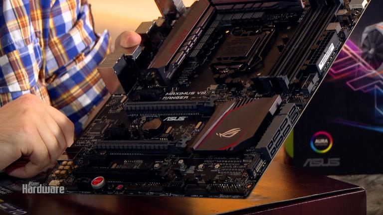 PCGH baut den Silent-PC: Hardware von Asus vorgestellt
