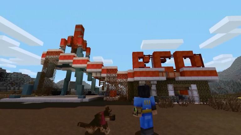 Minecraft Bunker Zombies Im Trailer Zum FalloutMashupPack - Minecraft spielen fur anfanger