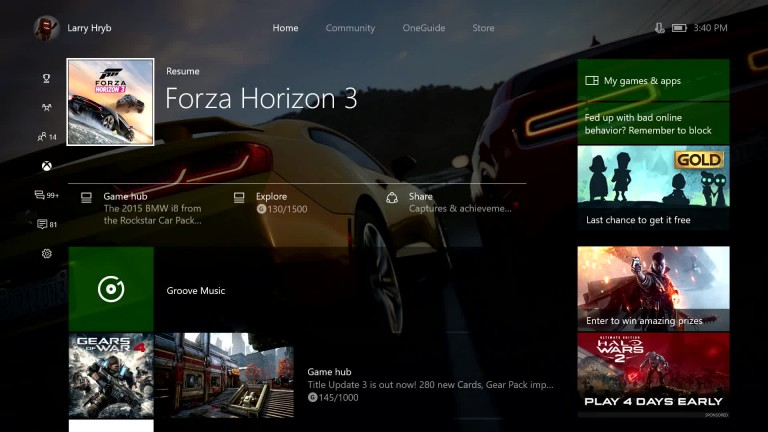Xbox One: So funktioniert das neue Guide-Menü - Video zum System-Update