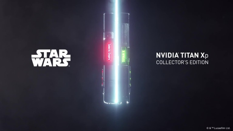 Titan Xp Collector's Issues: Nvidia Announces Star Wars Versions