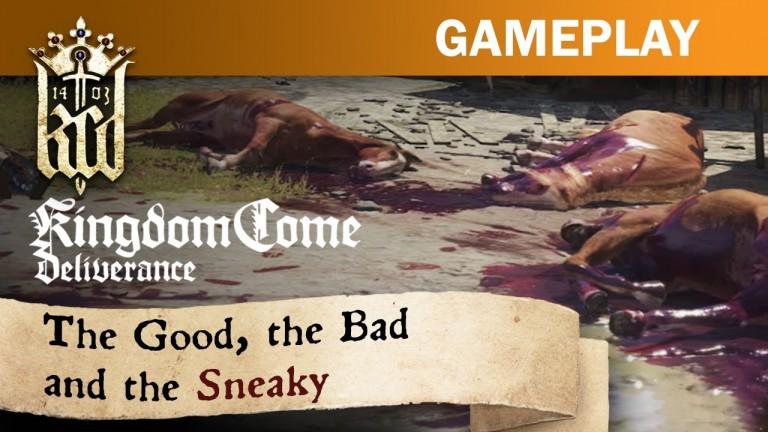 Kingdom Come: Deliverance - Gameplay-Video zeigt verschiedene Spielarten