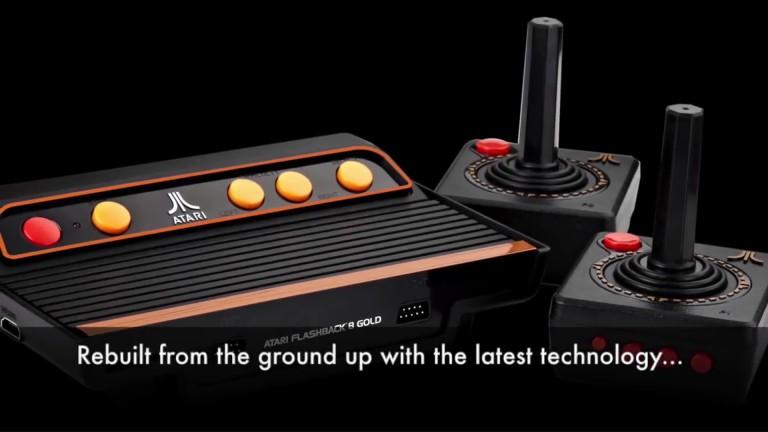 Atari Flashback 8 Gold: Retrokonsole im Video vorgestellt