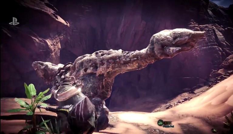 Monster Hunter World: Gameplay-Demo von der PSX 2017