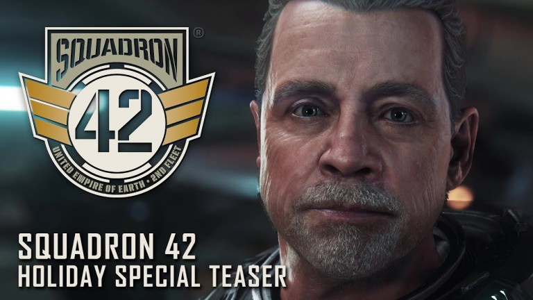 Star  national Squadron 42: Singleplayer Teaser-Video zeigt  notice Hamill