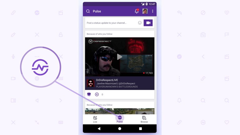 Twitch: New mobile app with many functions in the trailer
