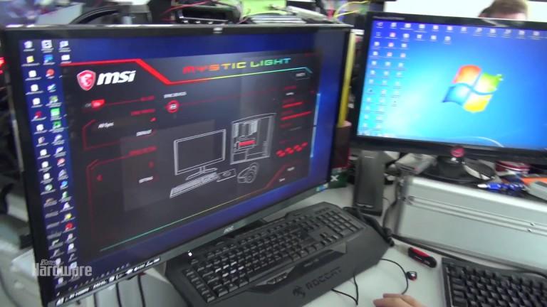 PCGH Raw & Uncut - Lichtspiele mit MSI GTX 1080 Ti Lightning Z