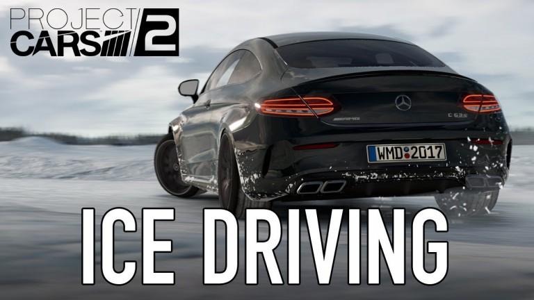 Project Cars 2: Mercedes Benz-Eistraining im Video vorgestellt