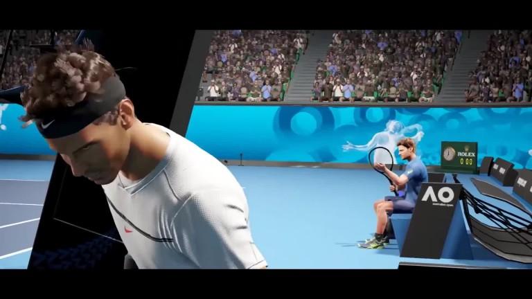 AO Tennis: Ankündigungs-Video zum