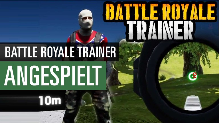 Battle Royale Trainer: Das PUBG-Übungsprogramm im Video angespielt