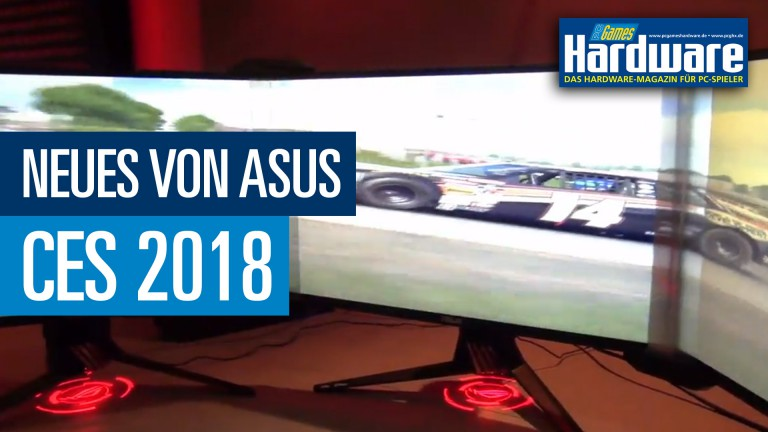 CES: Asus überrascht mit OLED-Display, BFGD-Monitor und Bezel-free-Kit im CES-Video