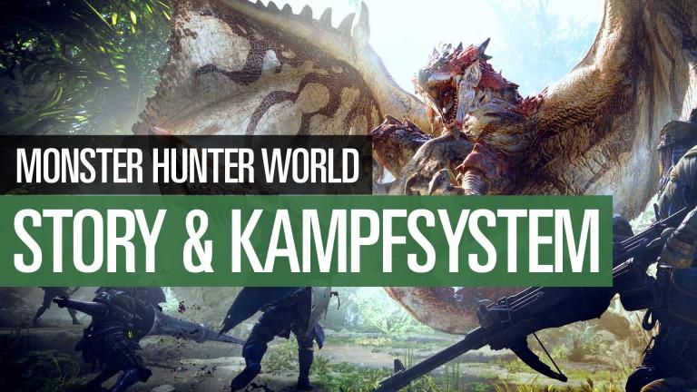 Monster Hunter World: FAQ-Video mit Infos zu Story, Release und Kampfsystem