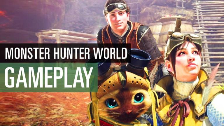 Monster Hunter World: Die ersten 30 Minuten im Gameplay-Video