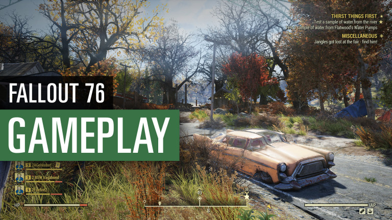 Fallout 76: 20 minutes of game from the main quest
