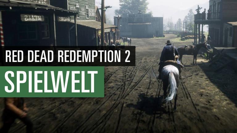 Red Dead Redemption 2: Durchquerung der Spielwelt - Video
