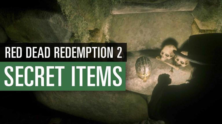 Red Dead Redemption 2: 10 geheime Items und ihre Fundorte