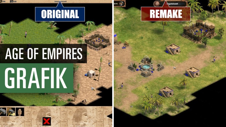 Age of Empires: Definitive Edition: Vergleich des Originals mit dem Remake