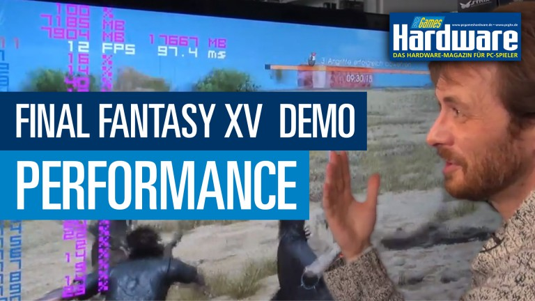 Final Fantasy XV: Appearance and Radeon Performance | PCGH Raw & Uncut