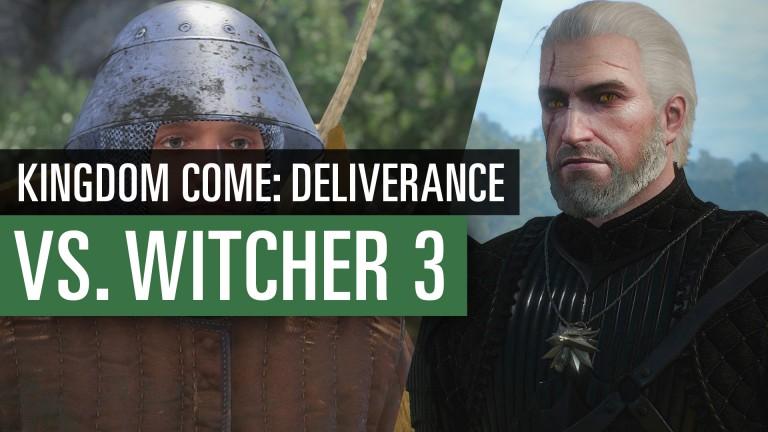 Kingdom Come vs. The Witcher 3: Video-Vergleich: Welches Rollenspiel hat die schönere Grafik?