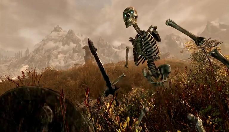 Skyrim: Gameplay-Trailer kündigt die Version für SteamVR an