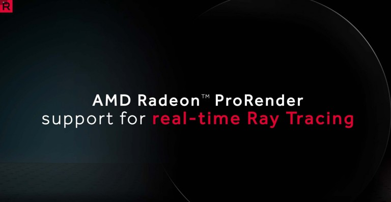 AMD Volcano: ProRender and Radeon Rays 2.0 for gaming