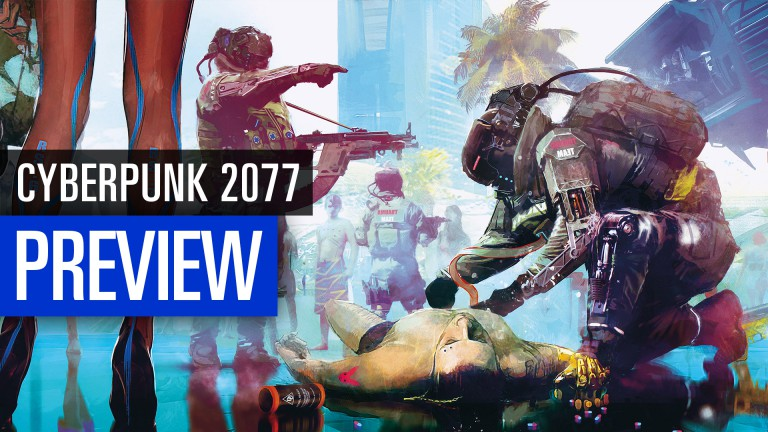 Cyberpunk 2077: Our Impression of the E3 2018 in the Video