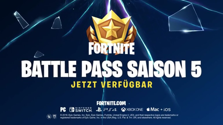 Fortnite: Trailer zum neuen Battle Pass für Season 5