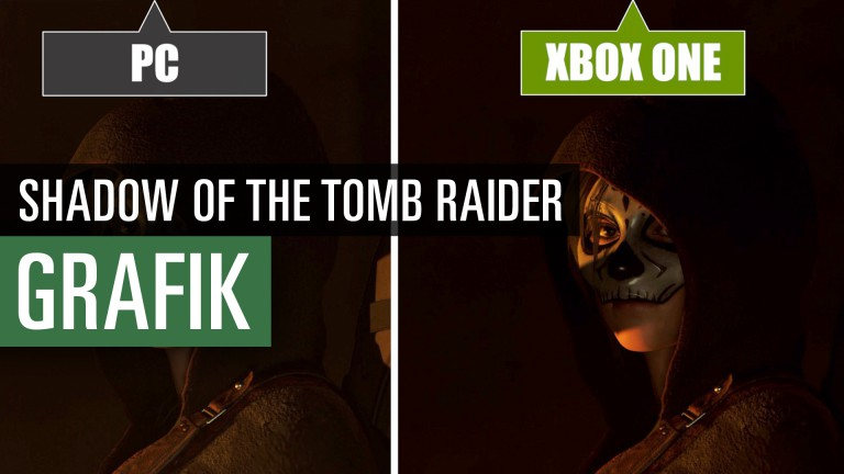 Shadow of the Tomb Raider in comparison of video graphics - PC, PS4 Pro, Xbox One X.