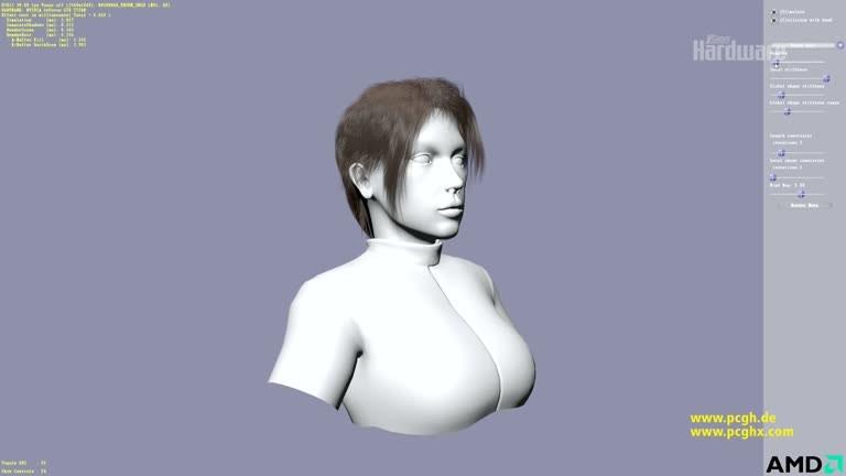 TressFX 2.0 - AMDs Techdemo für Haar-Rendering ausprobiert