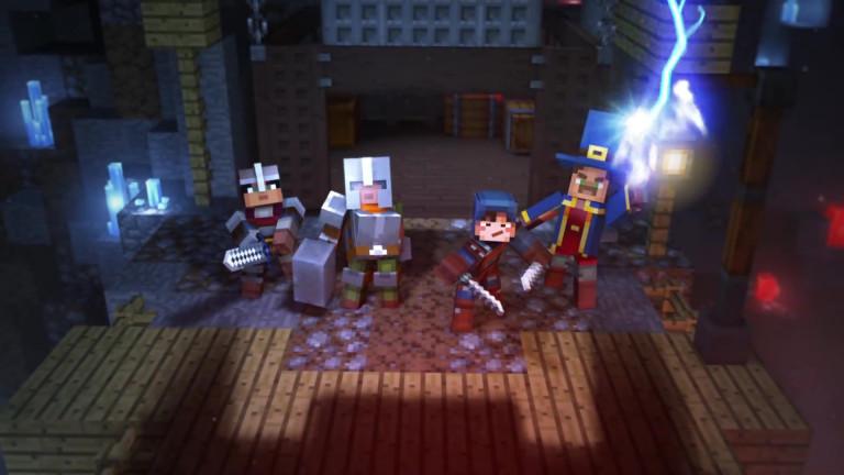 Minecraft: Dungeons - Der Ankündigungs-Trailer