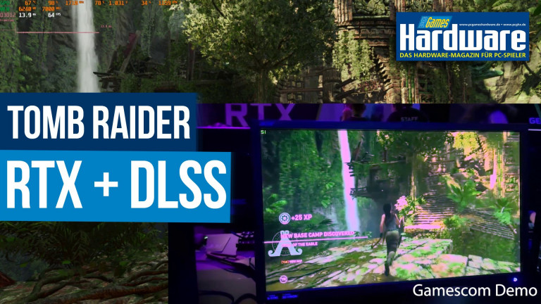 Shadow of the Tomb Raider: Raytracing und DLSS-Patch ausprobiert