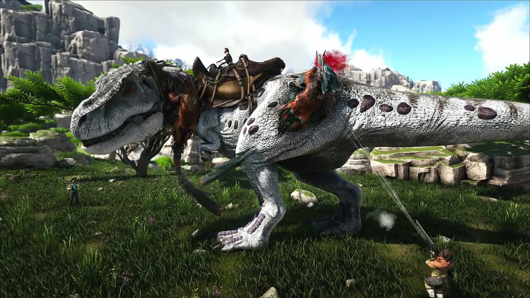 ARK: Survival Evolved - Trailer stellt die neue Map