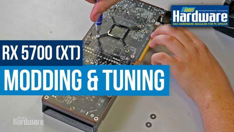 AMD Radeon RX 5700 XT: Tuning durch Modding und Undervolting