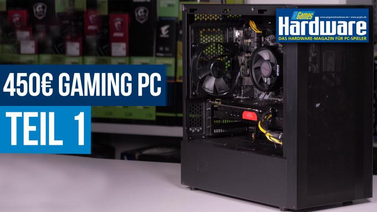 Gaming-PC für 450 Euro (Teil 1): Konsolen-Konkurrent im Zusammenbau