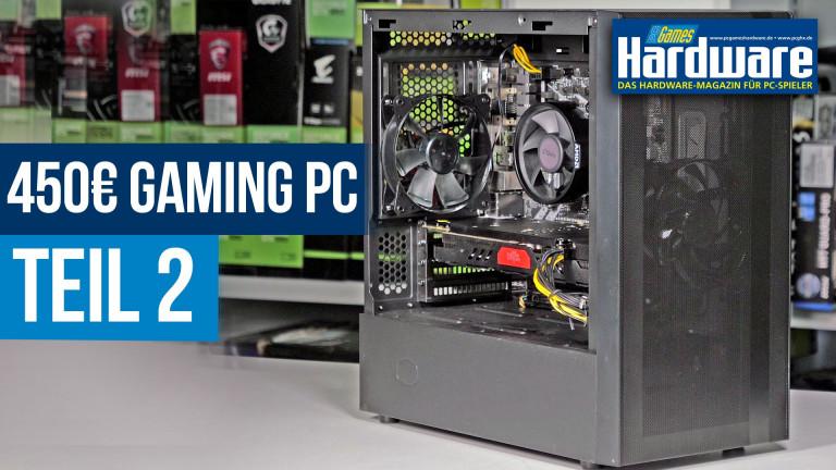 Gaming-PC für 450 Euro (Teil 2): Benchmarks und Upgrade-Empfehlungen
