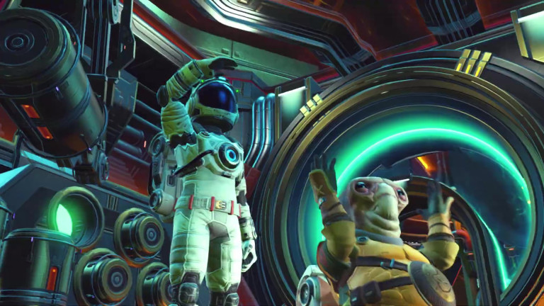 No Man's Sky: Launch-Trailer zum gro?en Beyond-Update