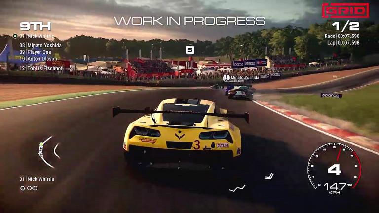 GRID: gamescom-Trailer zum Rennspiel