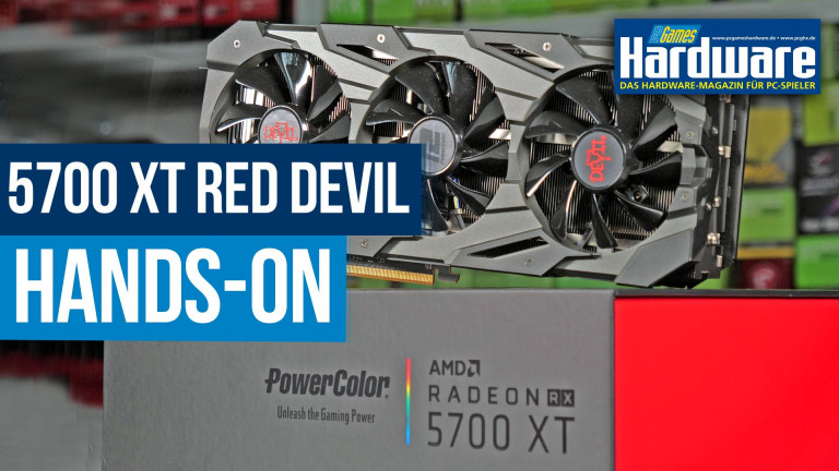 Powercolor RX 5700 XT Red Devil: Navi-Premiumdesign im Hands-On-Test