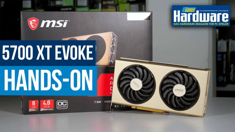 MSI Radeon RX 5700 XT Evoke OC: Navi-Edeldesign im Hands-On-Test