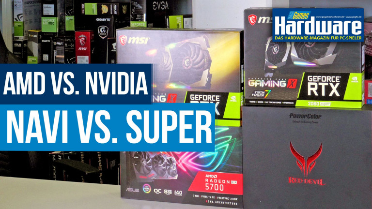 Amd Navi Vs Nvidia Super Mit Pci E 4 0 Zum Sieg Kampf Der Custom Karten